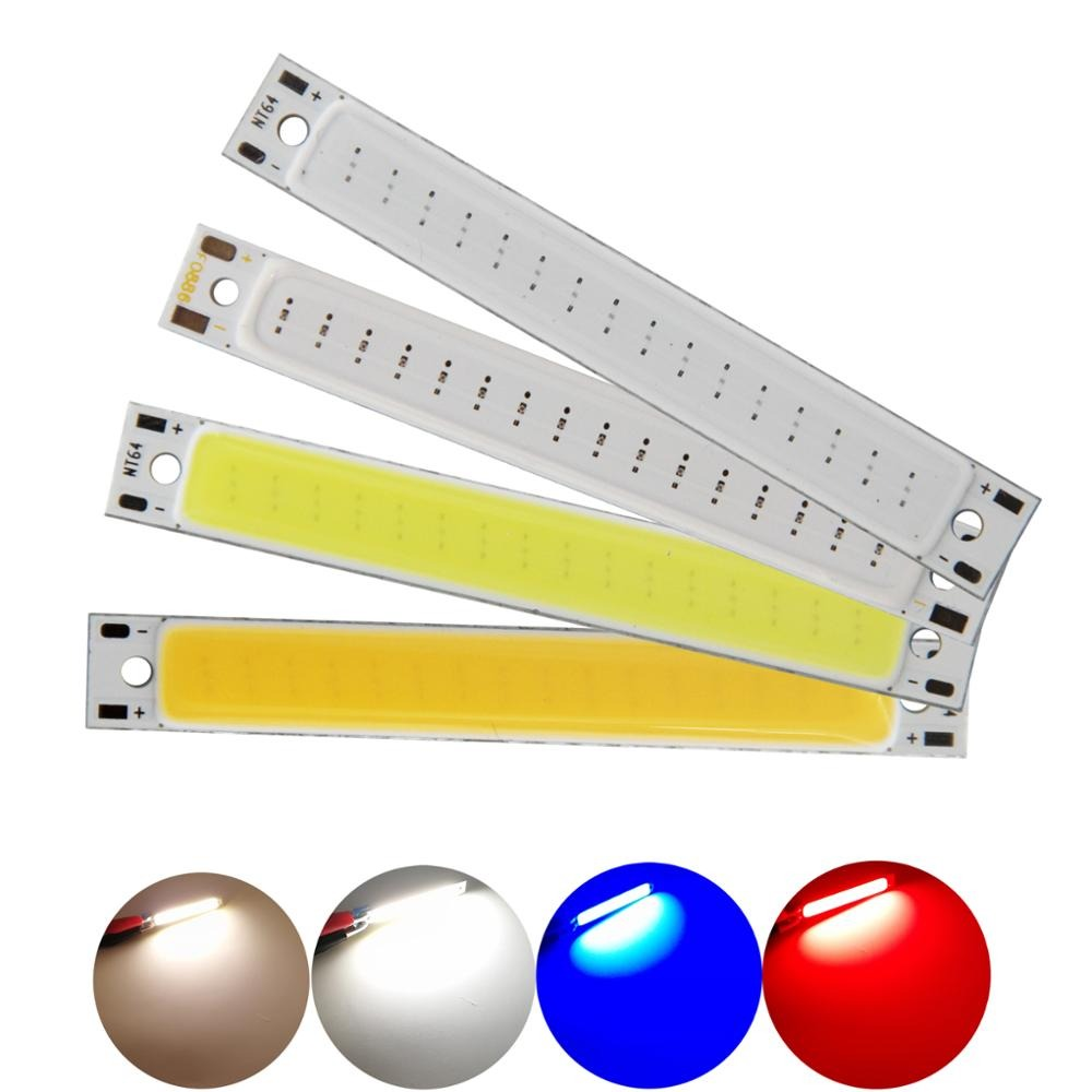 60*8mm COB LED Strip Bar Light 2.36 inch DC3-3.7V 3W