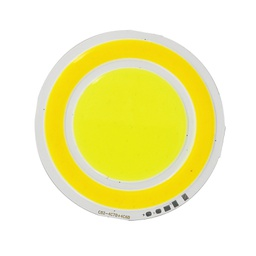[PY210212] 5.6*2W LED Round COB Module Panel DC12V/450mA 82MM Dual CCT Warm White + White