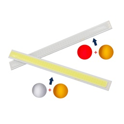 170*15mm Dual-Color COB LED Strip Bar Light 6.69 inch DC12V 8W